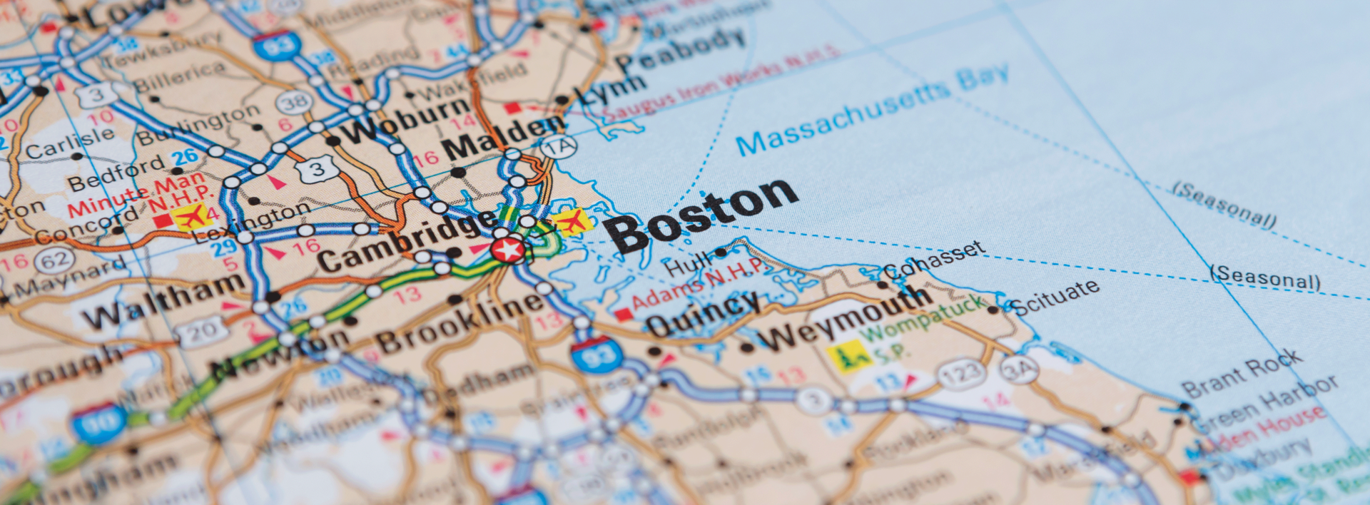 map of boston ivf locations